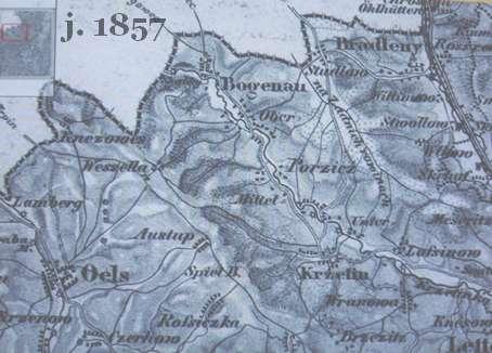 Historická mapa obce